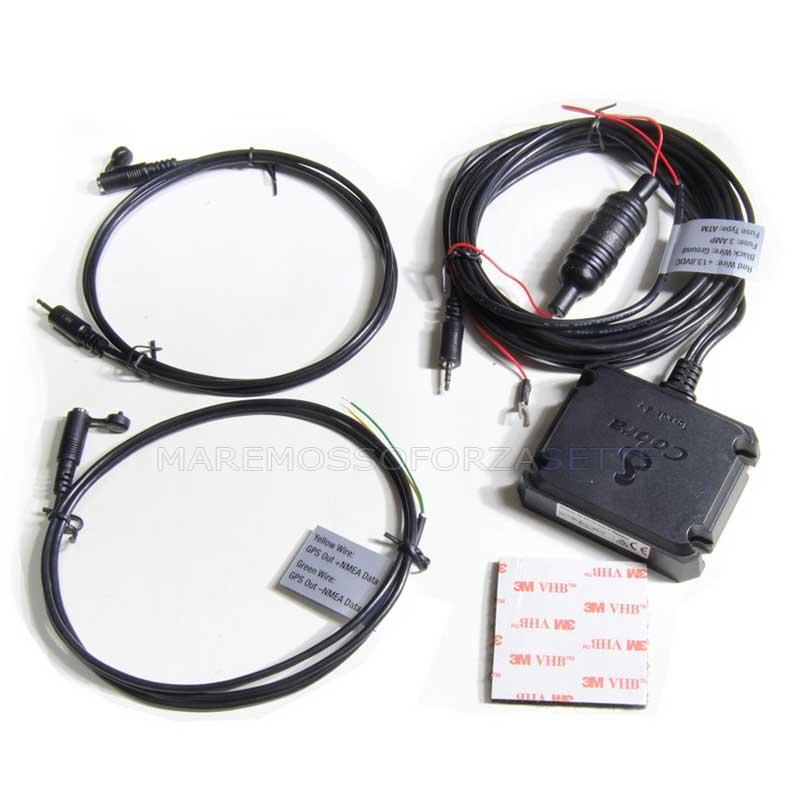 Cobra Marine Antenna Gps For Vhf Dsc Compatible Nmea 0183