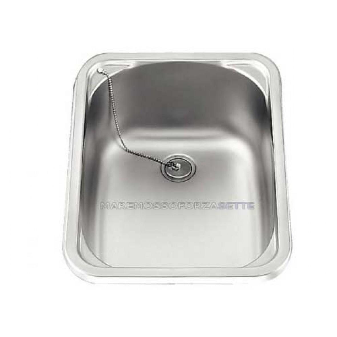 Vendita Lavello In Acciaio Inox Per Barca 380x280 Mm Fornelli E Lavelli Cucina A Bordo
