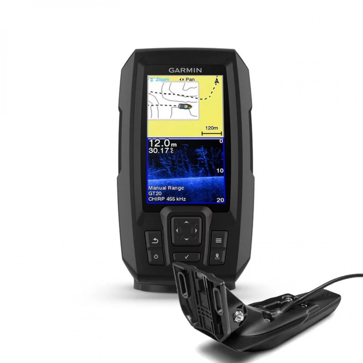GARMIN Staffa inclinabile//girevole STRIKER™ Plus 4//4cv