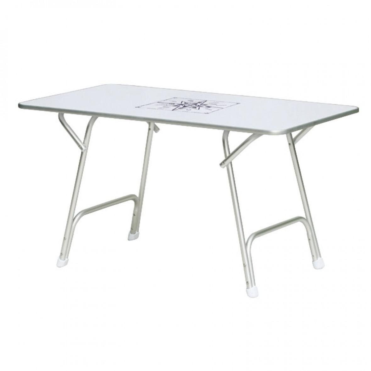Tavoli Pieghevoli Da Barca.Vendita Tavolo Per Barca Pieghevole In Alluminio Cm 130x73 Altezza