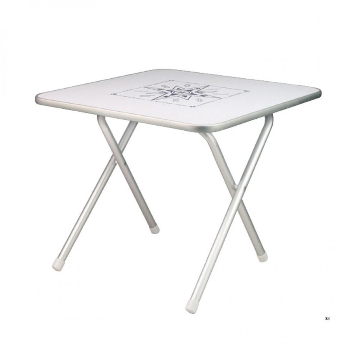 Tavoli Pieghevoli In Alluminio.Vendita Online Tavolo Per Barca Pieghevole In Alluminio Cm 60x40