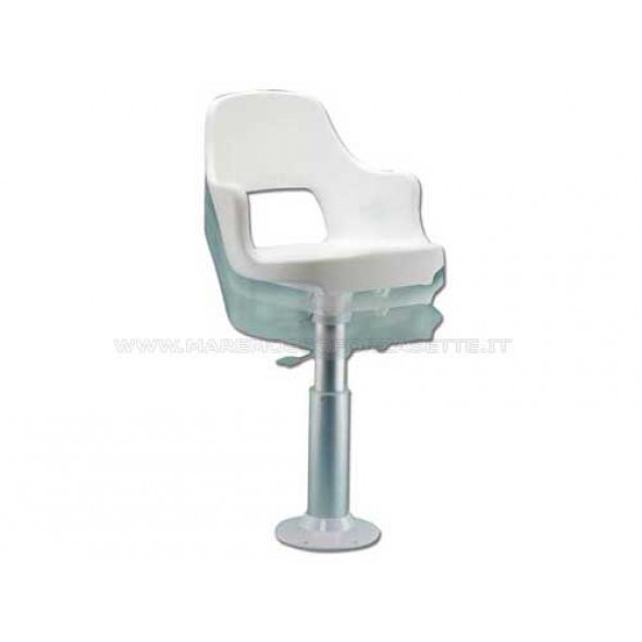 Poltrona di guida sedile per barca completa captain O1421026
