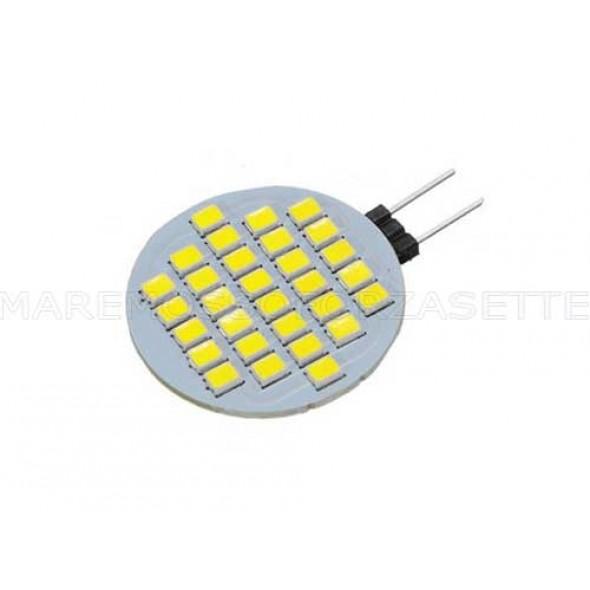 LAMPADINA A LED G4 12V CON 30 SMD LED 300 LUMEN