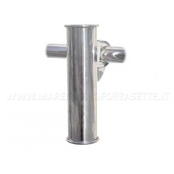 Portacanna da riposo inox aisi 316 per tubi 22-30mm