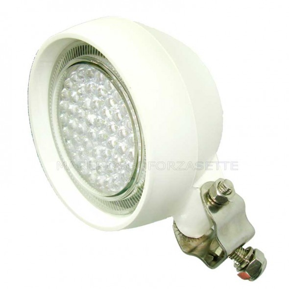 Faro Lalizas tondo spot light 54 led con staffa