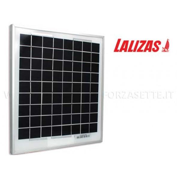 Pannello solare monocristallino Lalizas 10 watt
