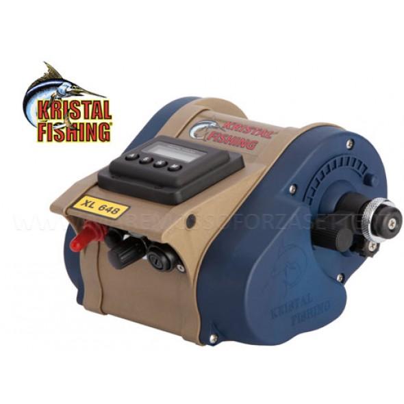 Mulinello elettrico Kristal Fishing XL648D velocità regolabile