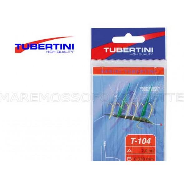 Tubertini Sabiki T-104 Mis. 9 Calamento Pesca Dalla Barca