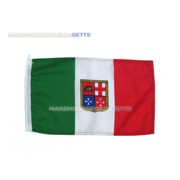 BANDIERA ITALIANA IN POLIESTERE 20x30