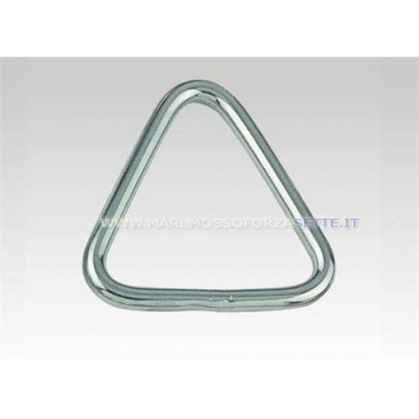 Anello inox triangolare 55mm