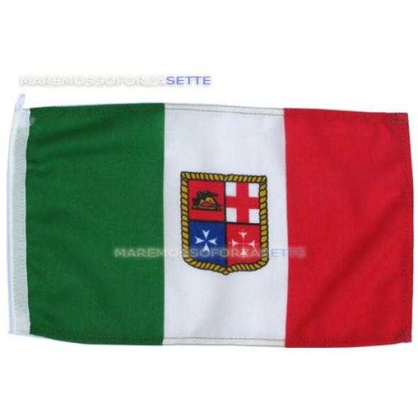 BANDIERA ITALIANA IN POLIESTERE PESANTE