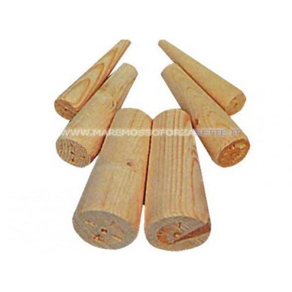 Coni turafalle in legno
