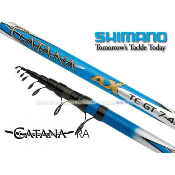 Canna Barca Shimano Catana Ax Teg7