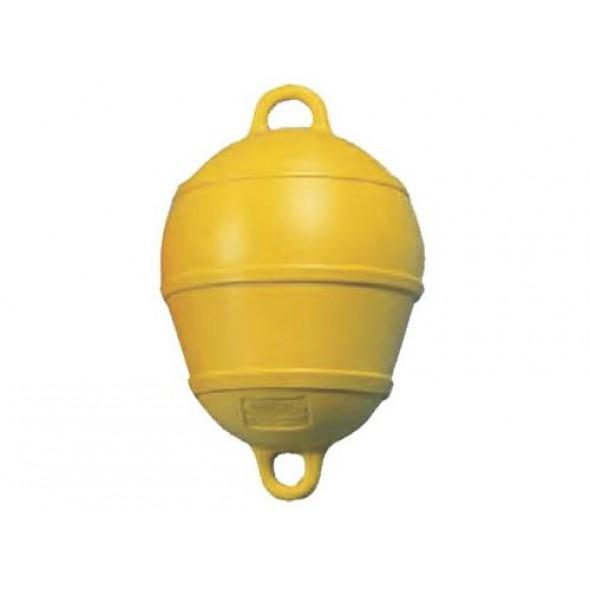 Boa a pera con anelli colore giallo