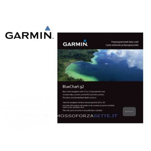 CARTOGRAFIA MARINA GARMIN BLUECHART G2 SUPPORTO SD/MICROSD