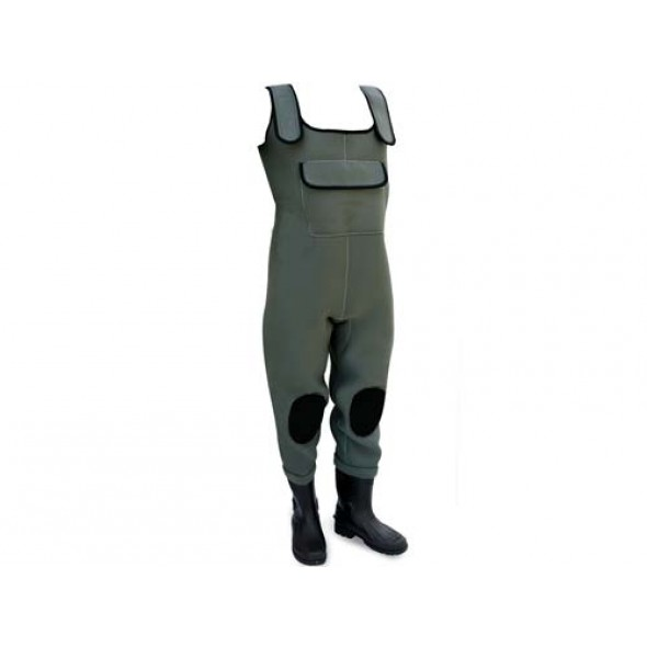 Stivale Waders scafandro in neoprene 4,5 mm