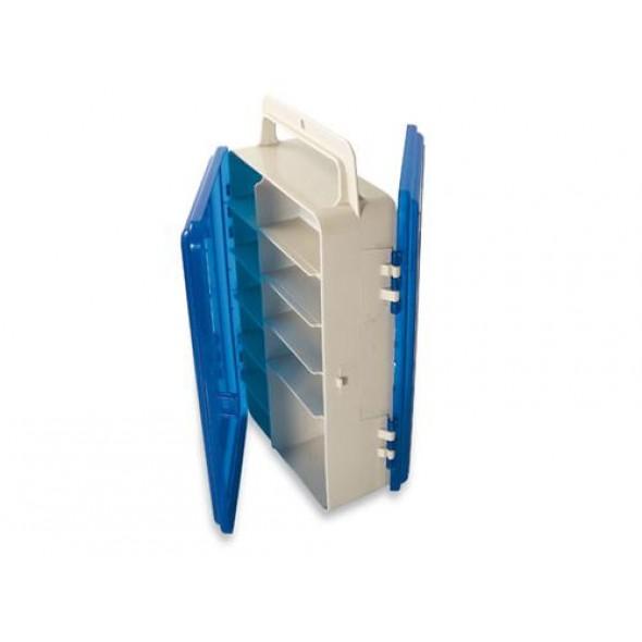 Valigetta 2 coperchi blu