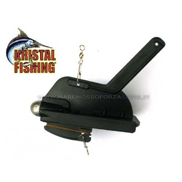 Affondatore traina Kristal Fishing AFC2 black squid catcer