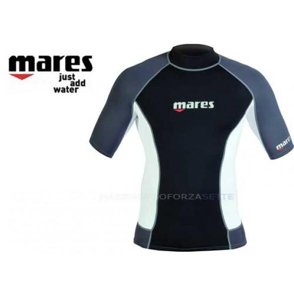 RASH GUARD MARES UOMO MAGLIA MANICA CORTA