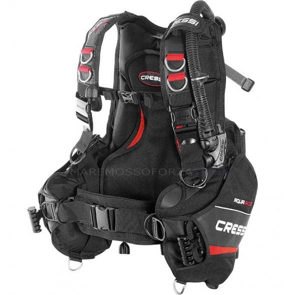 Cressi Sub Aquaride Jacket Con Tasche Porta Piombi Gav