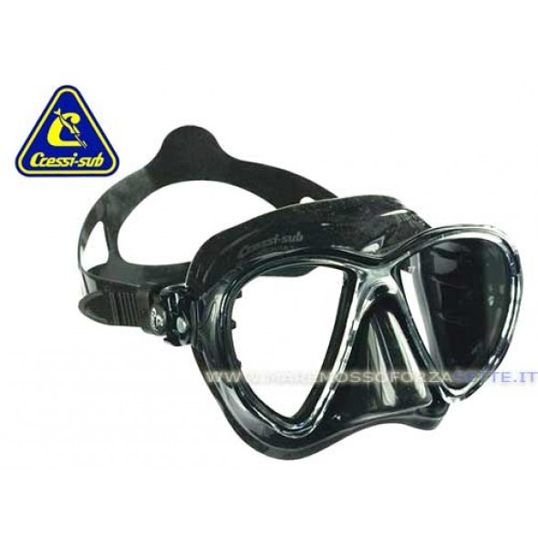 Cressi Sub Mask Big Eyes Evolution Silicone Black