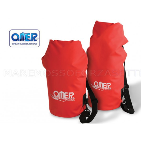 SACCA STAGNA OMER DRY BAGS ROSSA