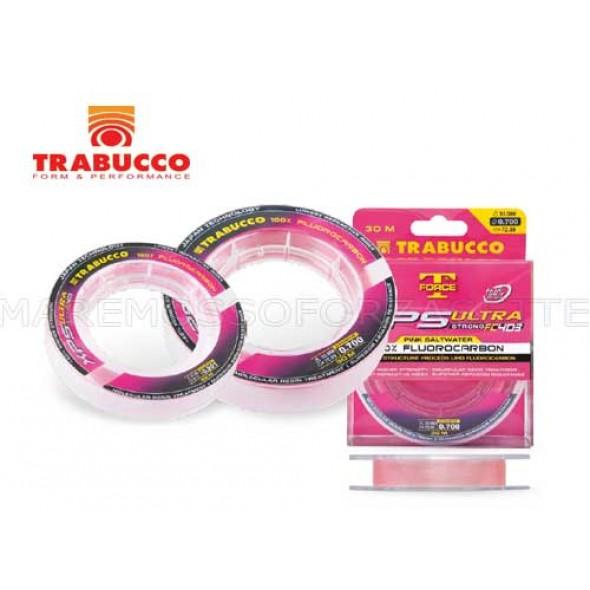 MONOFILO TRABUCCO FLUOROCARBON FC403 PINK 30 METRI