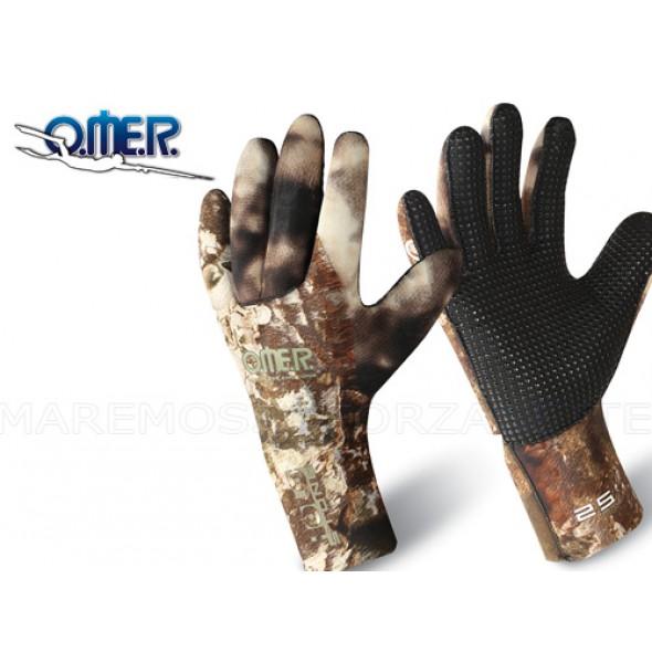 Guanti In Neoprene 2,5mm Omer Holo stone
