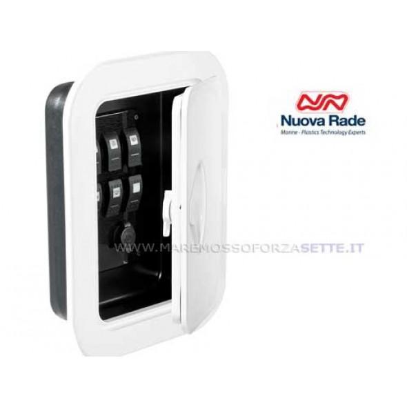 Sportello 375x275mm per pannelli elettrici o portaoggetti
