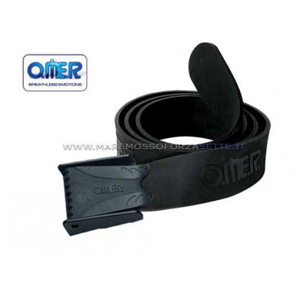 Cintura Elastica Per Piombi Omersub Con Fibbia Naylon