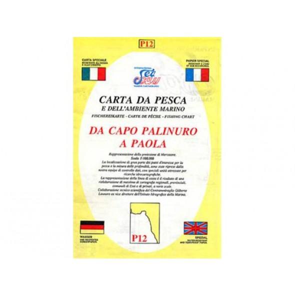 CARTA P12 PESCA SEAWAY CALABRIA