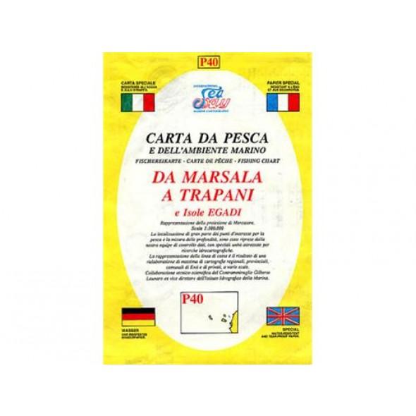 CARTA P40 PESCA SEAWAY SICILIA