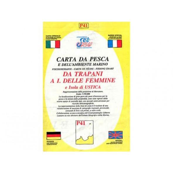 CARTA P41 PESCA SEAWAY SICILIA