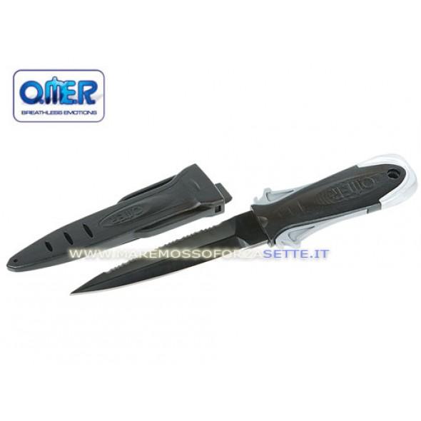 Coltello Sub Con Fodero Omersub Maxi Laser