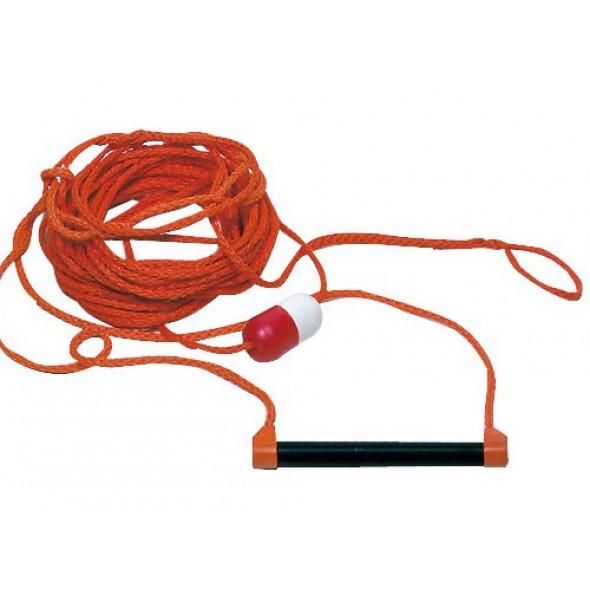 Corda traino per sci nautico con maniglia regolamentare