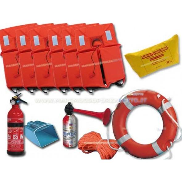 Dotazioni sicurezza per la barca 3 miglia