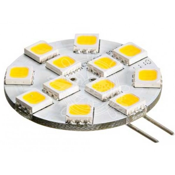 Lampadina led a disco per plafoniere tipo G4 laterale 200 lumen