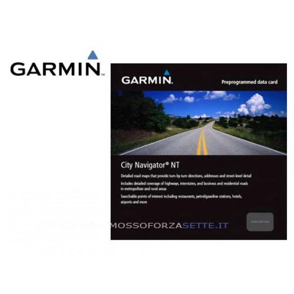Cartografia Stradale Garmin Italia City Navigator Sd/Microsd