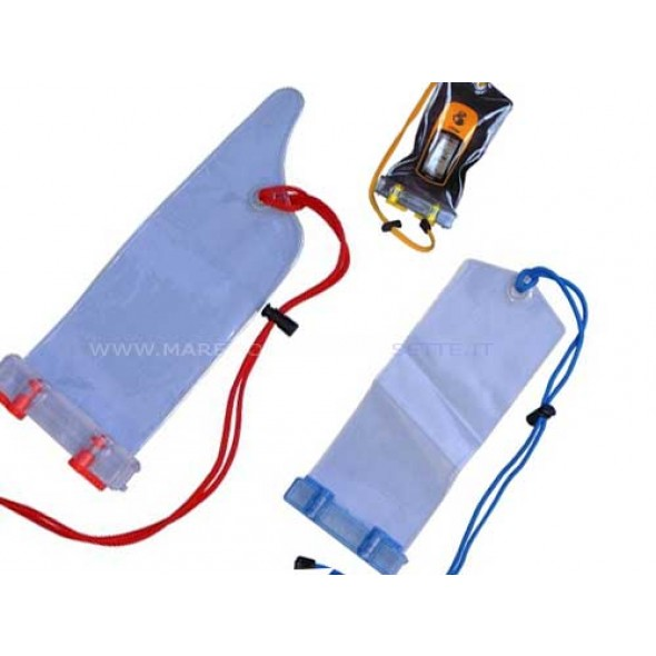 CUSTODIA IMPERMEABILE AQUAMATE AM2 mm 98 X 260 PER GPS CELLULARE
