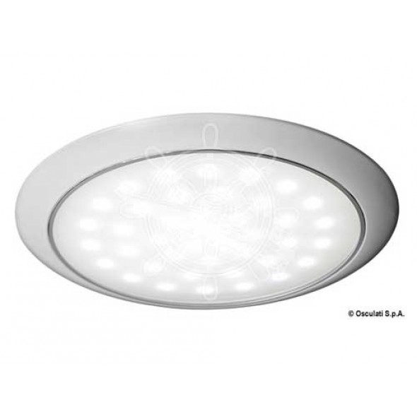Plafoniera 42 led ultrapiatta con interruttore touch