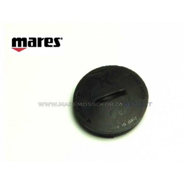 Tappo batteria ricambio per computer Puck Mares con oring