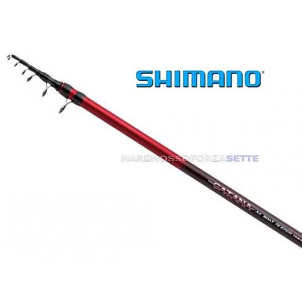 Canna Pesca Barca Shimano 400 Catana Ax Tele Boat
