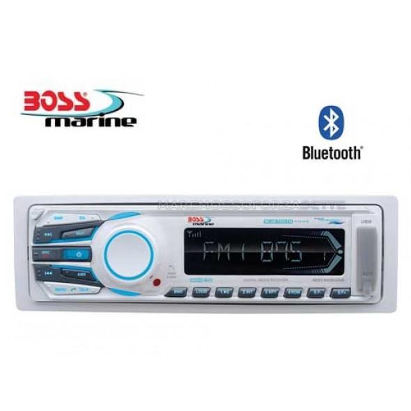 RADIO STEREO BARCA MARINIZZATO BOSS MARINE MR1308 BLUETOOTH