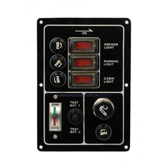 Pannello Elettrico per Barca vendita accessori nautica Stato Batterie