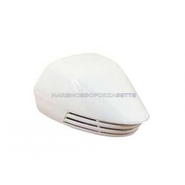 Tromba per barca a membrana in ABS bianco