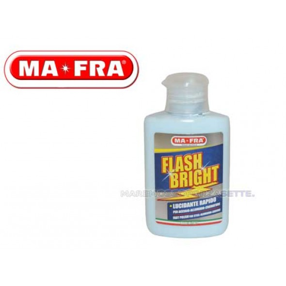 LUCIDANTE PER ACCIAIO MAFRA FLASH BRIGHT 80 ML
