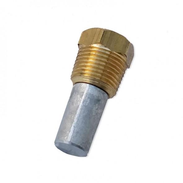 Tappo con zinco per scambiatori e collettori 3/8 (Default)