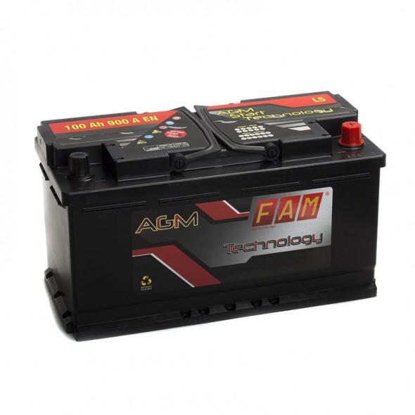 Batteria Per Barca Tipo Agm 12 Volt 100 Ampere