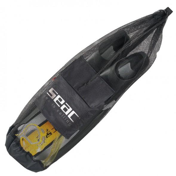 Sacca a rete Seac Sub con tasca per attrezzatura