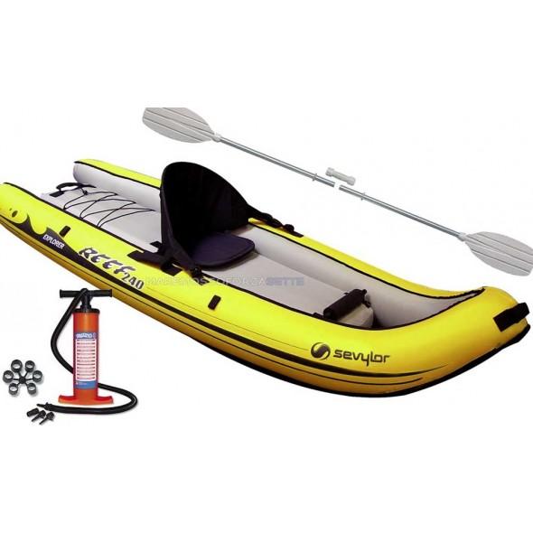 sevylor reef 240 canoa gonfiabile